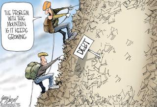 debt-mountain